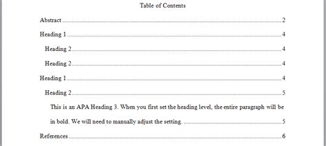 Apa research paper table of content contents ex png 827x370